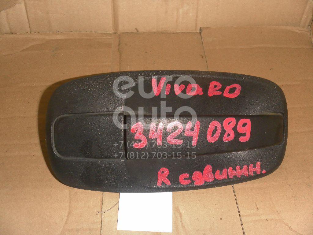 Ручка двери сдвижной наружная правая для Renault Vivaro 2001>;Trafic 2001> - Фото №1