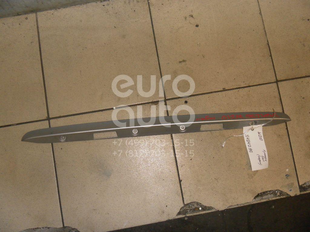 Накладка крышки багажника для Mercedes Benz W210 E-Klasse 2000-2002 - Фото №1