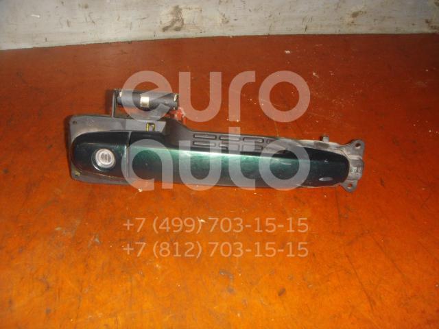 Ручка двери передней наружная правая для Toyota Corolla E12 2001-2006 - Фото №1