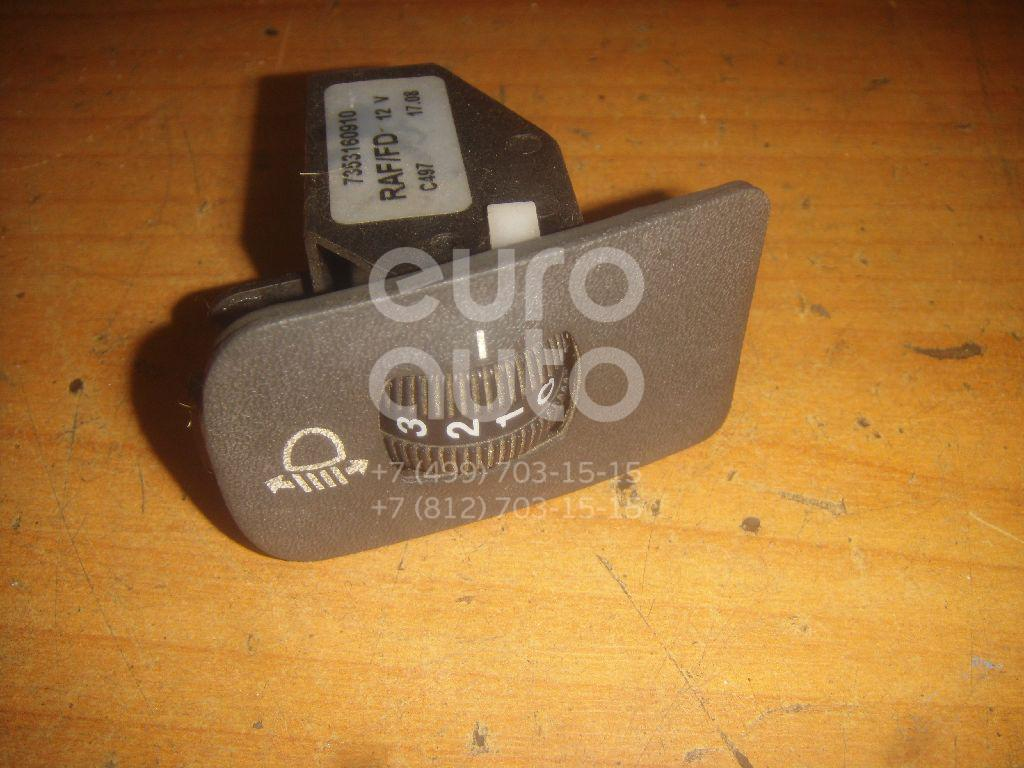 Кнопка корректора фар для Fiat,Peugeot,Citroen Ducato (+ЕЛАБУГА) 2002-2006;Boxer 2002-2005;Jumper 2002-2006 - Фото №1