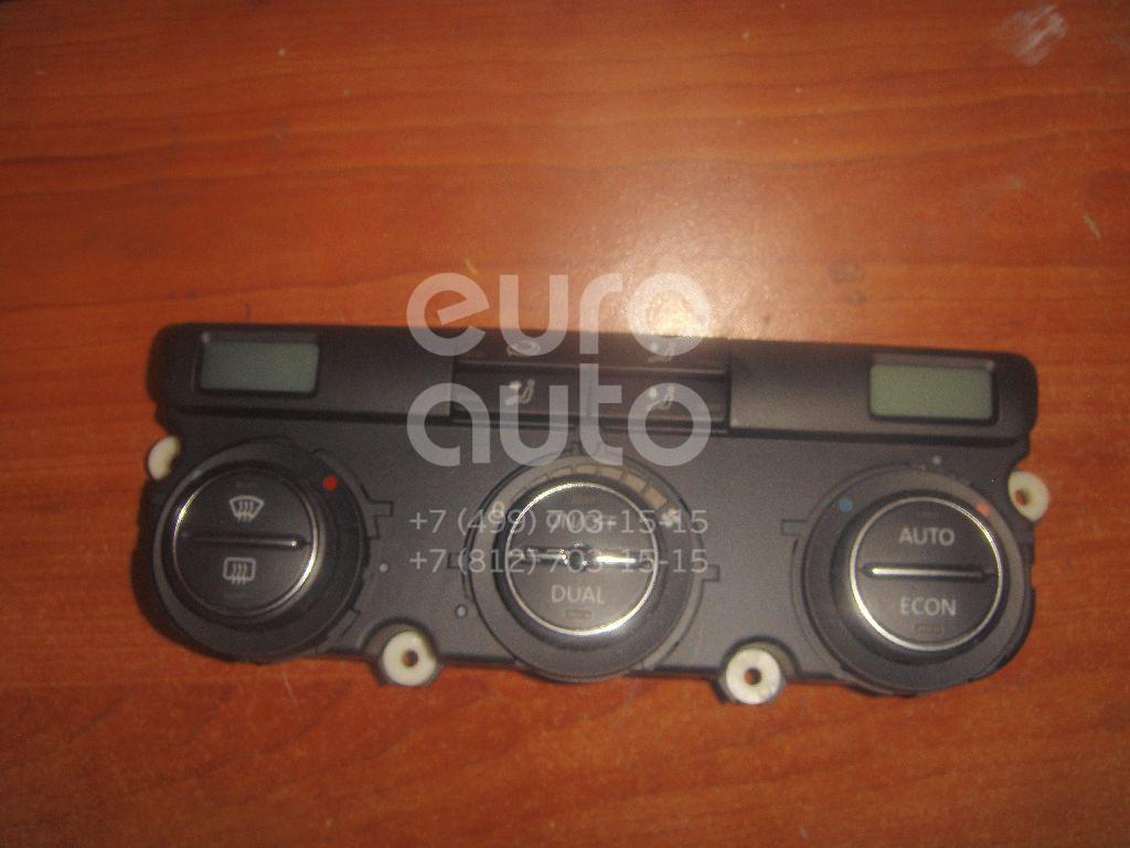 Блок управления климатической установкой для VW Jetta 2006-2011;Golf V Plus 2005-2014;Golf V 2003-2009;Touran 2003-2010 - Фото №1