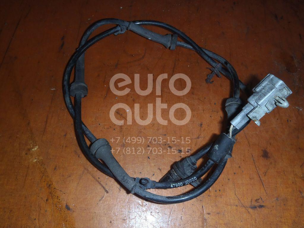 Датчик ABS задний для Nissan Qashqai (J10) 2006-2014;Qashqai+2 (JJ10) 2008-2014 - Фото №1