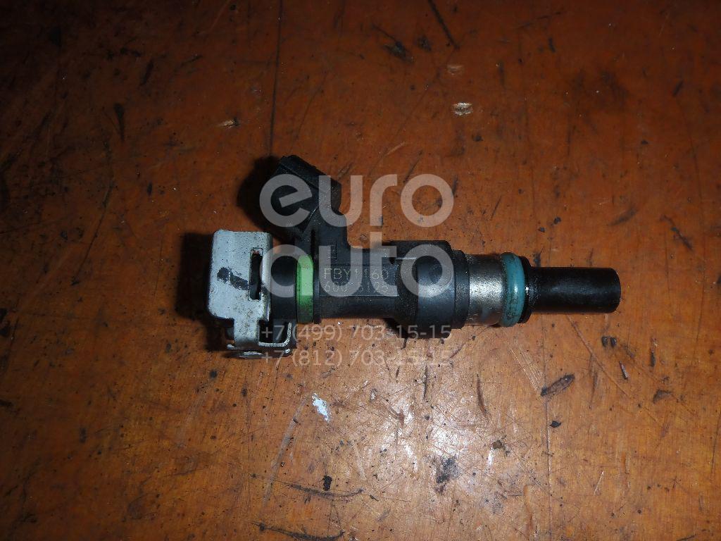 Форсунка инжекторная электрическая для Nissan Qashqai (J10) 2006-2014;Note (E11) 2006-2013;Micra (K12E) 2002-2010;Tiida (C11) 2007-2014;Qashqai+2 (JJ10) 2008-2014 - Фото №1