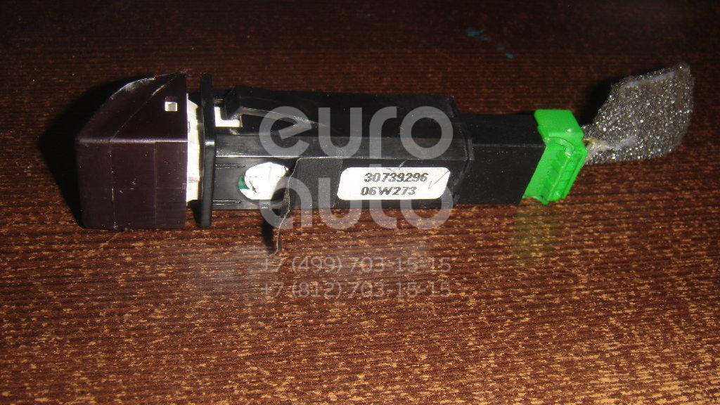 Кнопка аварийной сигнализации для Volvo S40 2004-2012;V50 2004-2012;C30 2006-2013;C70 2006-2013;XC60 2008> - Фото №1