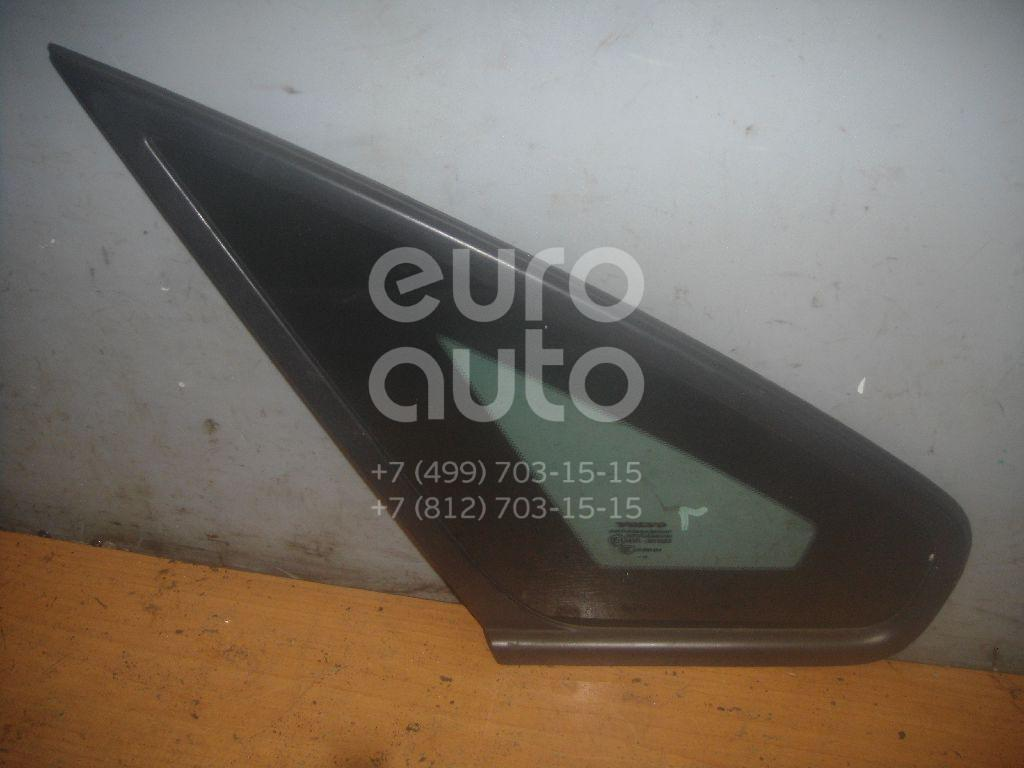 Стекло кузовное глухое левое для Volvo S40 2004-2012 - Фото №1