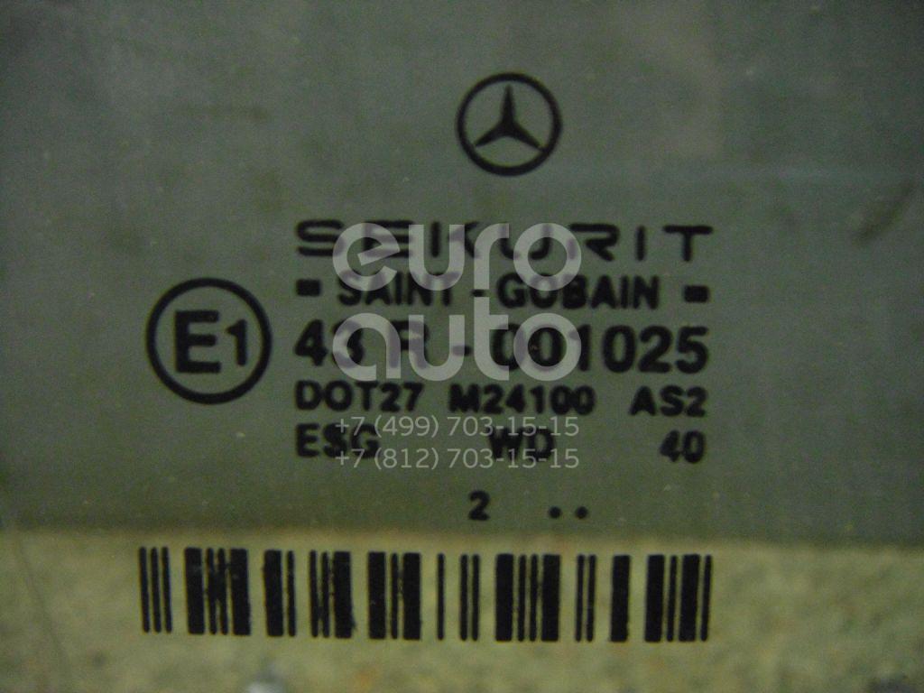 Стекло двери передней правой для Mercedes Benz W211 E-Klasse 2002-2009 - Фото №1