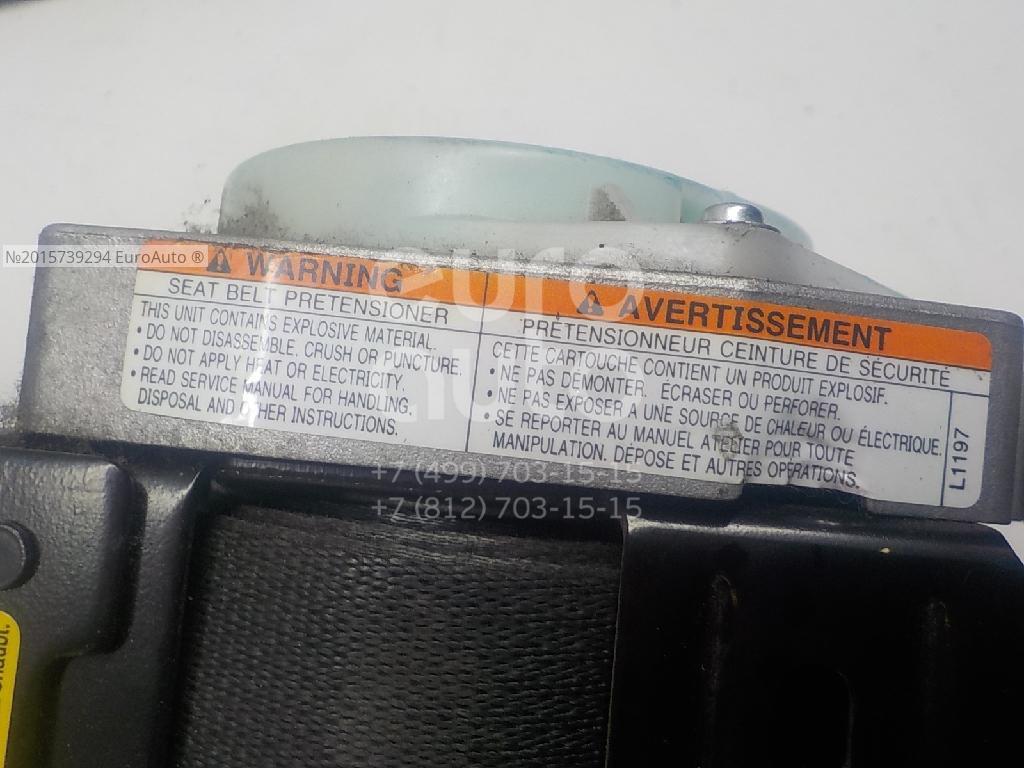 Ремень безопасности с пиропатроном для Suzuki Grand Vitara 2005-2015 - Фото №1