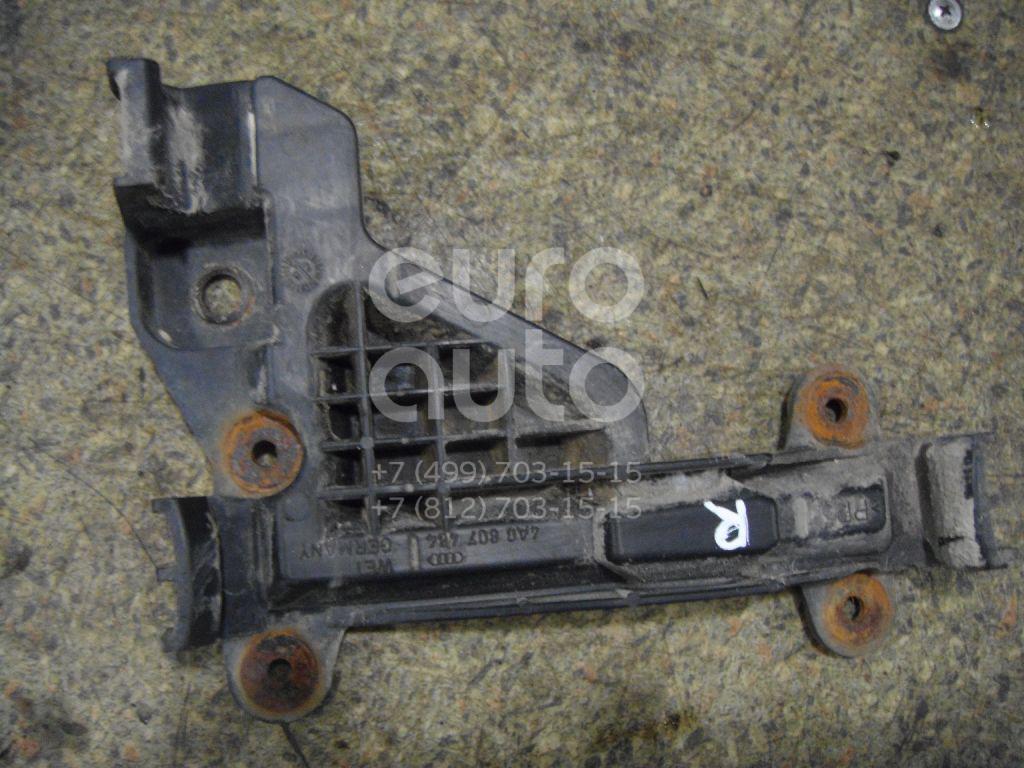 Направляющая заднего бампера правая для Audi 100 [C4] 1991-1994;A6 [C4] 1994-1997 - Фото №1