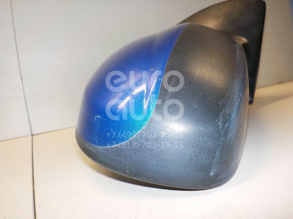 Зеркало правое механическое для Chevrolet Aveo (T200) 2003-2008 - Фото №1