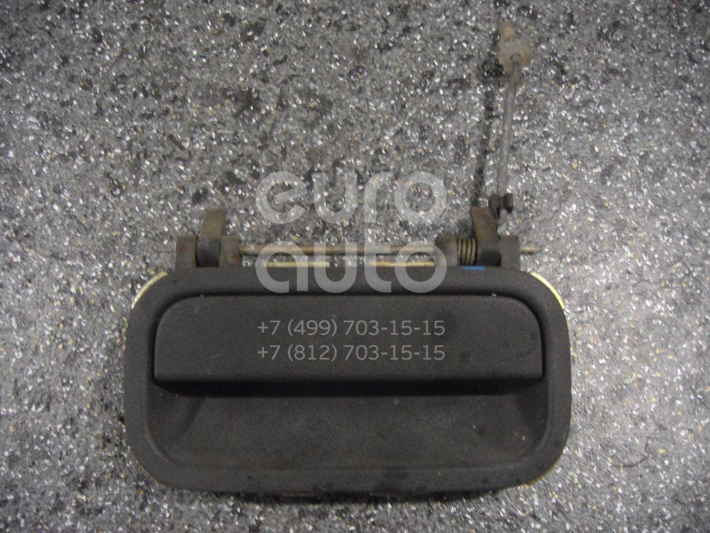 Ручка двери задней наружная левая для Opel Vectra A 1988-1995 - Фото №1