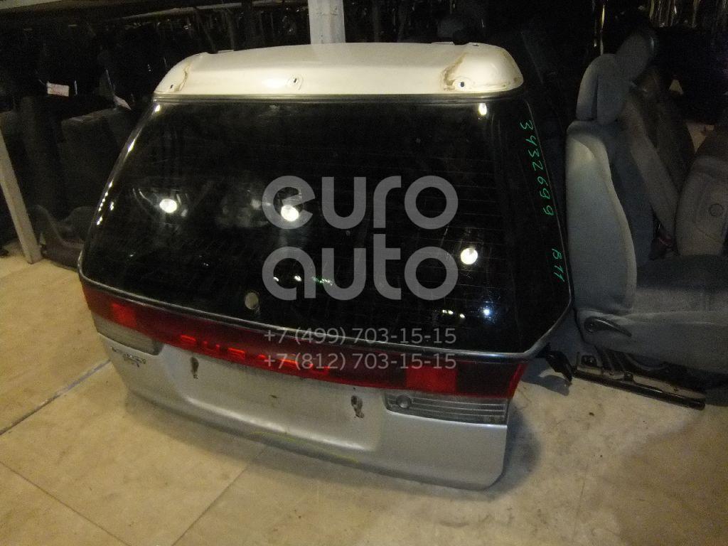 Дверь багажника со стеклом для Subaru Legacy (B11) 1994-1998 - Фото №1