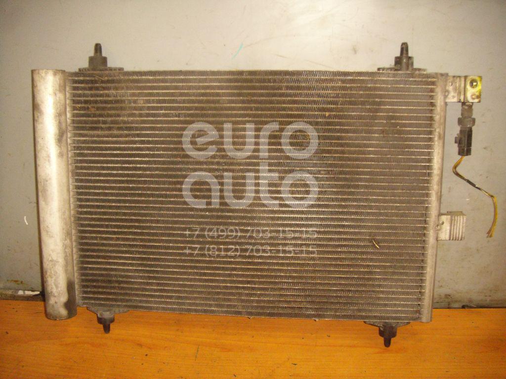 Радиатор кондиционера (конденсер) для Peugeot 607 2000-2010 - Фото №1