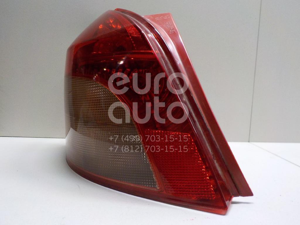 Фонарь задний левый для Toyota Yaris 2005-2011 - Фото №1