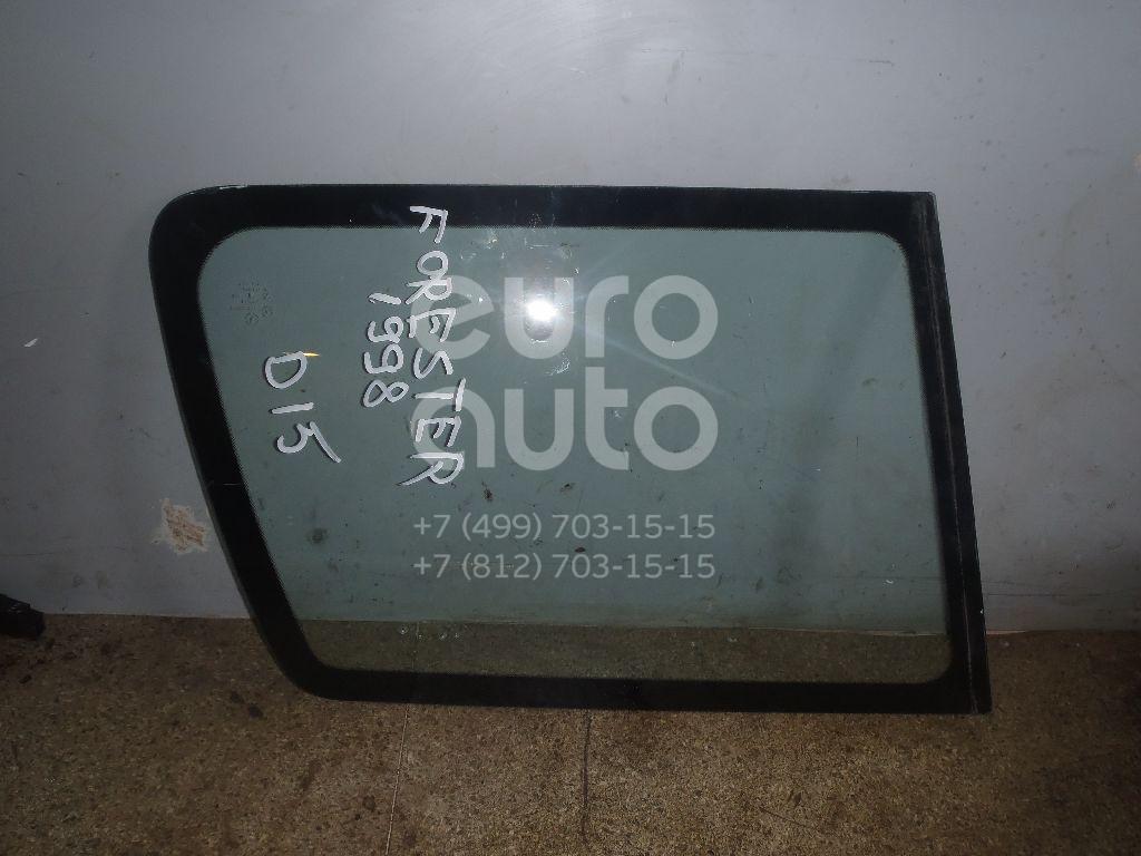 Стекло кузовное глухое левое для Subaru Forester (S10) 1997-2000;Forester (S10) 2000-2002 - Фото №1