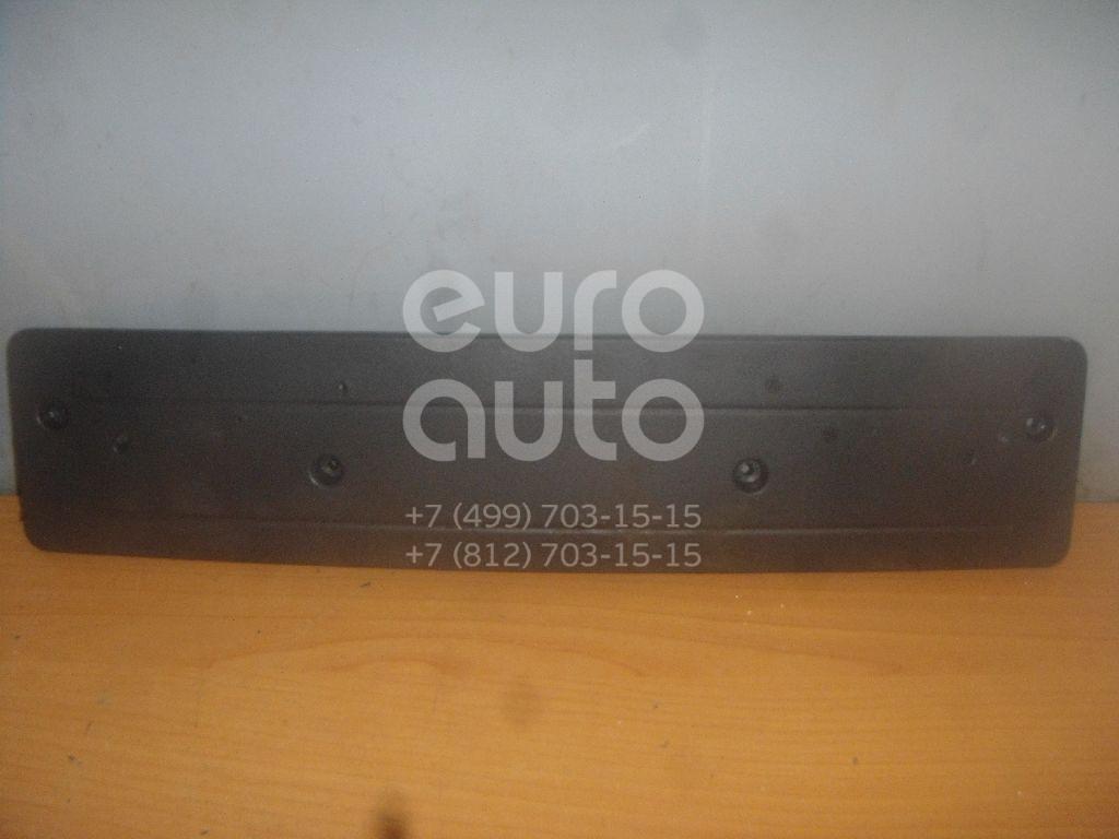 Накладка переднего бампера под номер для BMW X5 E53 2000-2007 - Фото №1