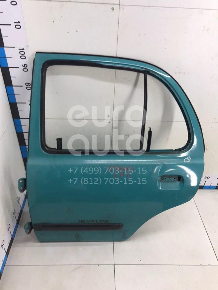 Дверь задняя левая для Nissan Micra (K11E) 1992-2002 - Фото №1