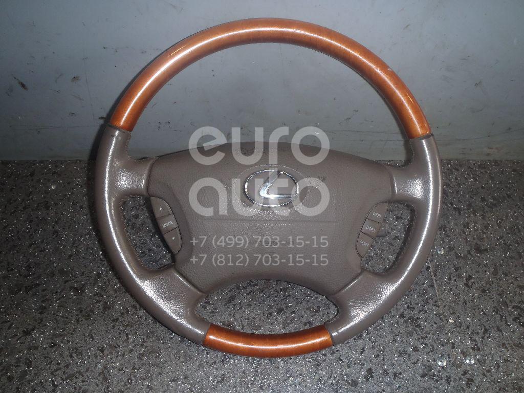 Рулевое колесо с AIR BAG для Lexus LS 430 (UCF30) 2000-2006 - Фото №1