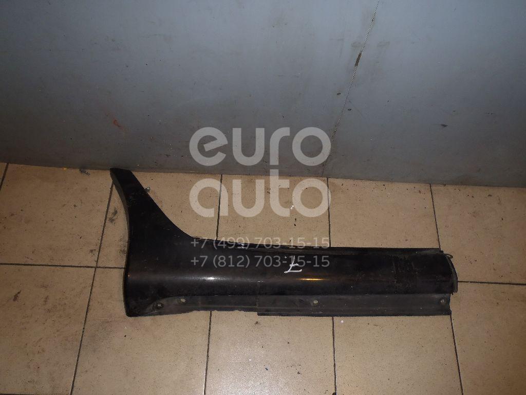 Накладка на порог (наружная) для Lexus LS 430 (UCF30) 2000-2006 - Фото №1