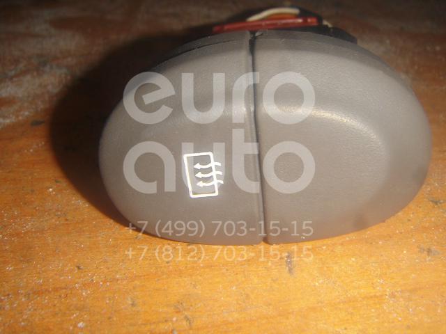 Кнопка обогрева заднего стекла для Renault Scenic 1999-2003 - Фото №1