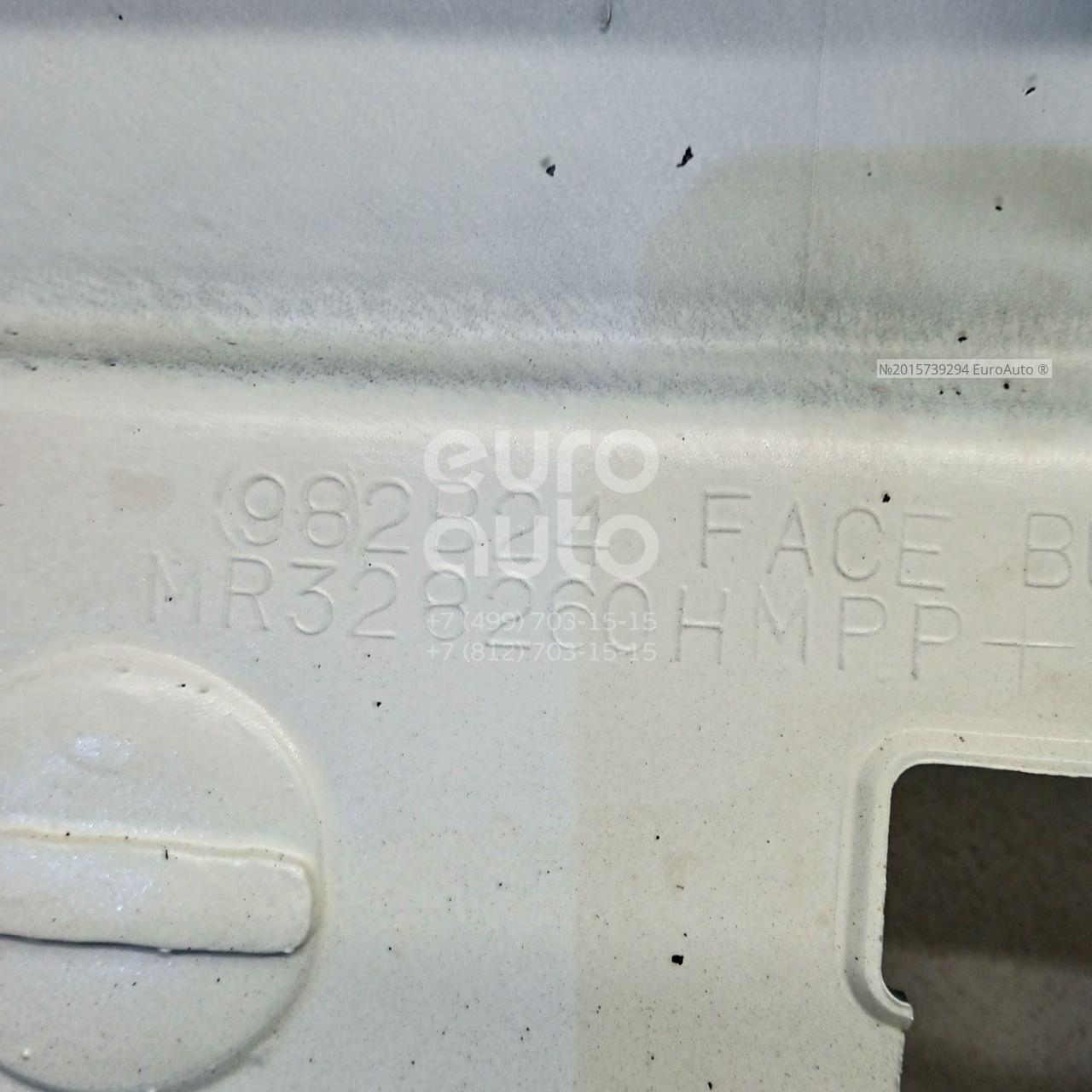 Бампер передний для Mitsubishi Colt (CJ) 1996-2004 - Фото №1