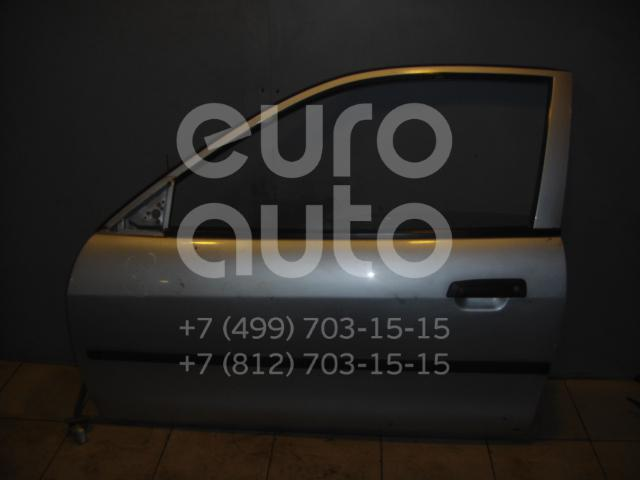 Дверь передняя левая для Mitsubishi Colt (CJ) 1996-2004 - Фото №1