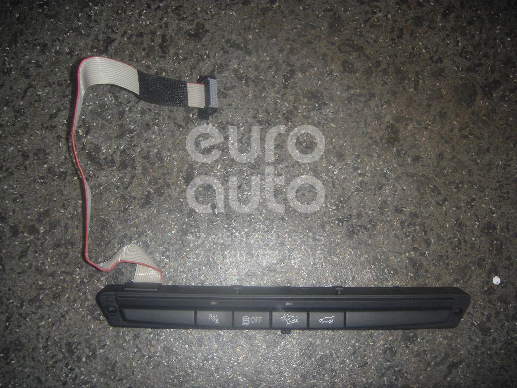 Блок кнопок для BMW X5 E70 2007-2013;X6 E71 2008-2014 - Фото №1