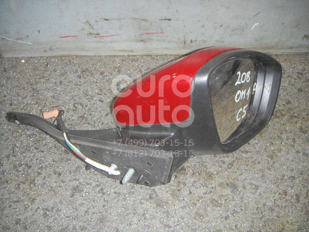 Зеркало правое электрическое для Peugeot 208 2012> - Фото №1
