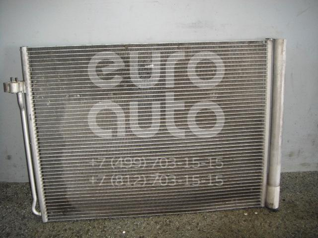Радиатор кондиционера (конденсер) для BMW X6 E71 2008-2014;X5 E70 2007-2013 - Фото №1