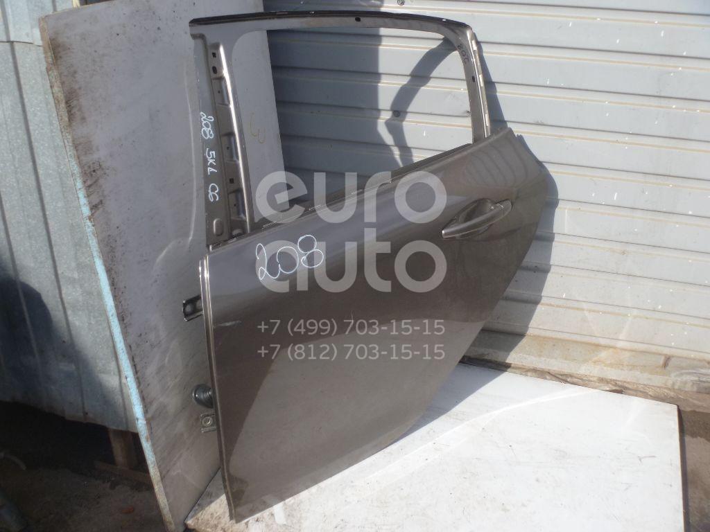 Дверь задняя левая для Peugeot 208 2012> - Фото №1