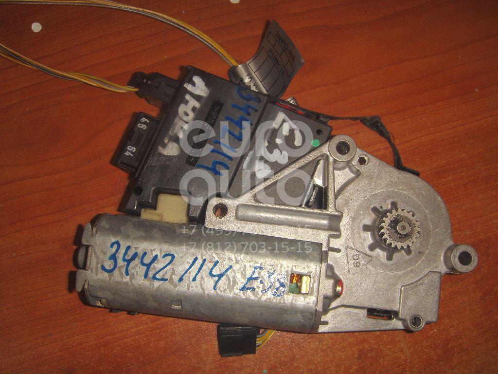Моторчик люка для BMW 7-серия E38 1994-2001;5-серия E39 1995-2003;X5 E53 2000-2007 - Фото №1