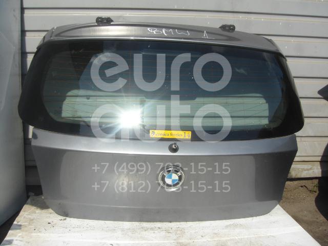 Дверь багажника со стеклом для BMW 1-серия E87/E81 2004-2011 - Фото №1