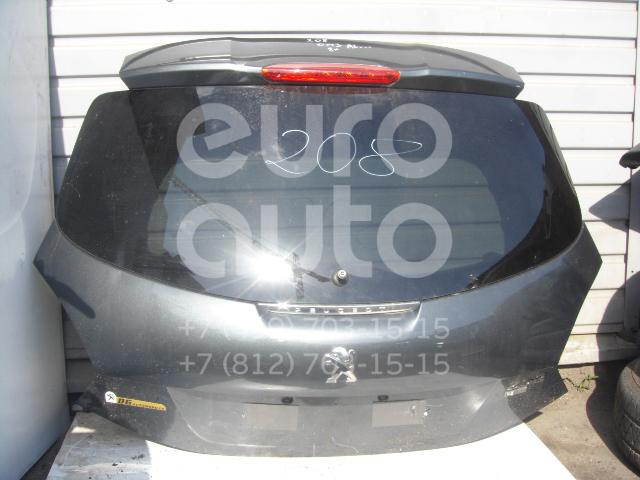 Дверь багажника со стеклом для Peugeot 208 2012> - Фото №1