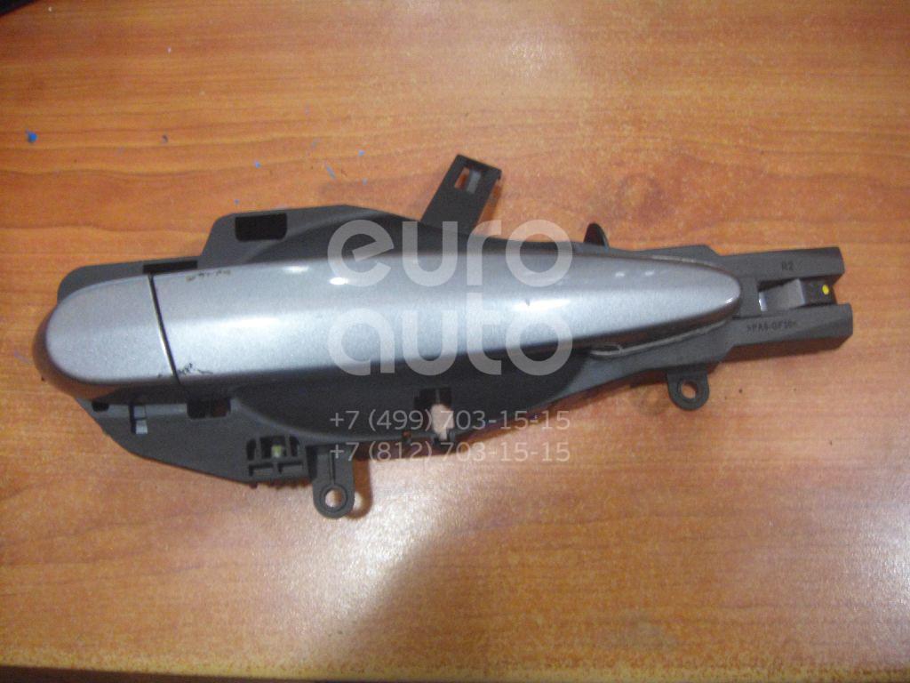 Ручка двери передней наружная правая для BMW 3-серия E90/E91 2005-2012 - Фото №1