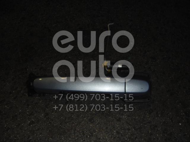 Ручка двери передней наружная левая для Toyota Auris (E15) 2006-2012 - Фото №1