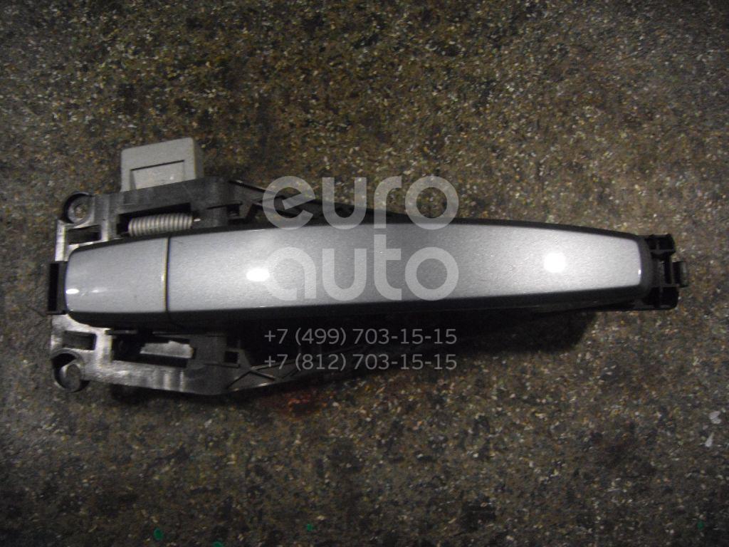 Ручка двери наружная для Opel Astra H / Family 2004-2015;Tigra TwinTop 2004-2009;Zafira B 2005-2012 - Фото №1