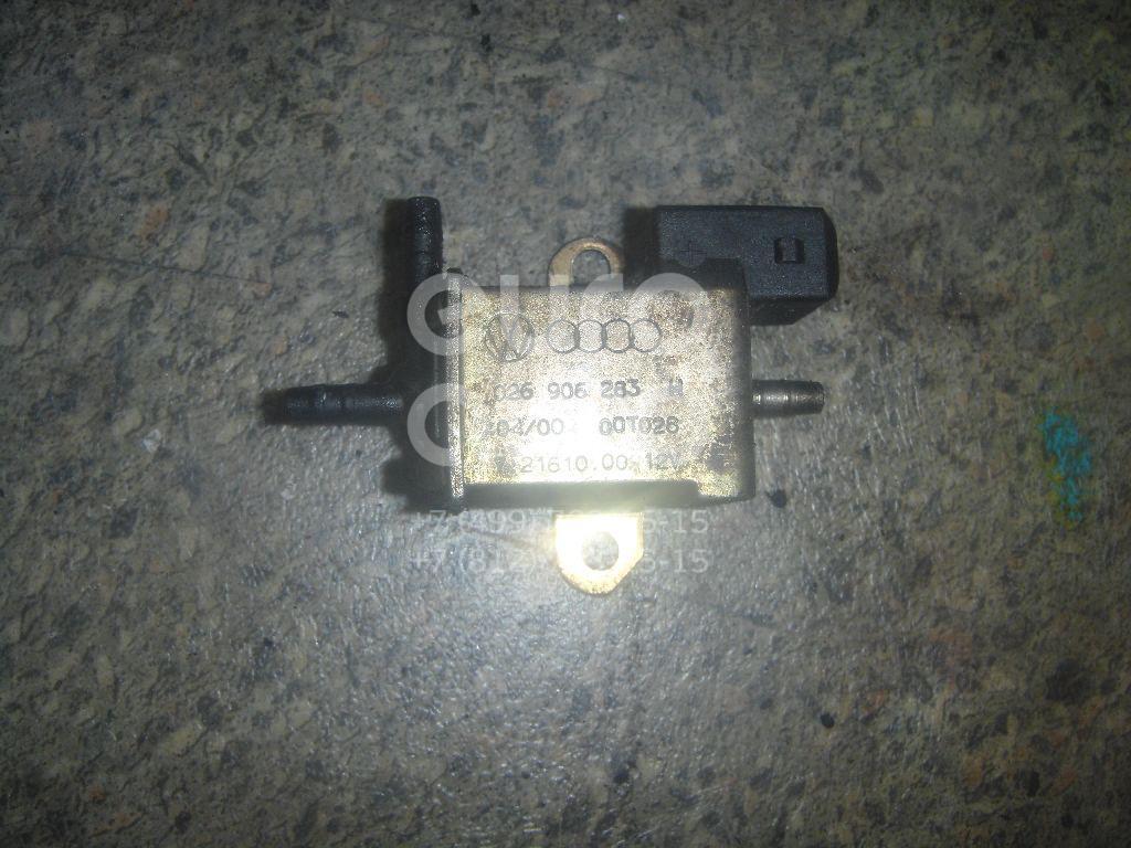 Клапан электромагнитный для VW,Audi,Seat Passat [B5] 1996-2000;80/90 [B2] >1986;80/90 [B3] 1986-1991;100/200 [44] 1983-1991;100 [C4] 1991-1994;A3 (8L1) 1996-2003;A4 [B5] 1994-2001;A6 [C4] 1994-1997;Toledo I 1991-1999;Toledo II 1999-2006 - Фото №1