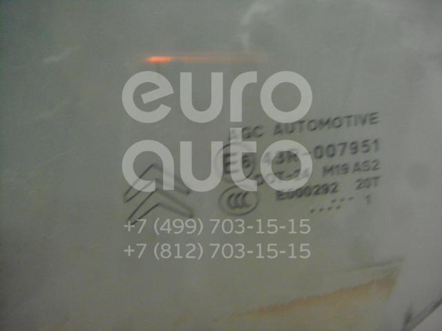 Стекло двери передней левой для Citroen C3 2009-2016 - Фото №1