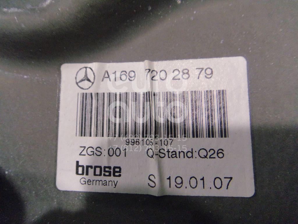 Стеклоподъемник электр. передний правый для Mercedes Benz W245 B-klasse 2005-2011;A140/160 W169 2004-2012 - Фото №1