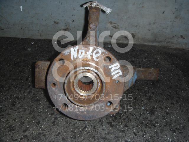 Кулак поворотный передний правый для Nissan Note (E11) 2006-2013;Micra (K12E) 2002> - Фото №1