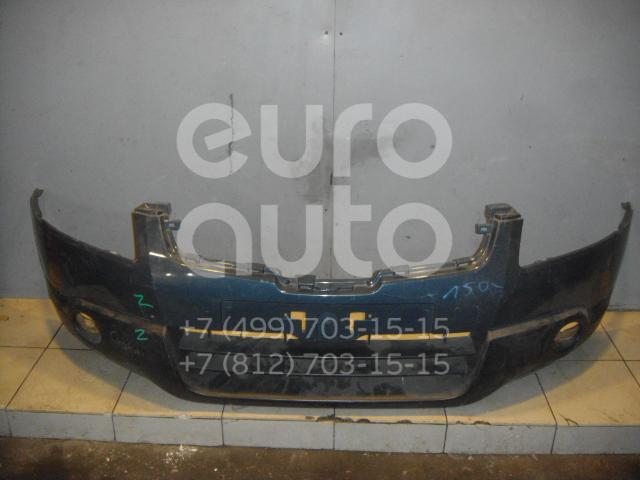 Бампер передний для Nissan Qashqai (J10) 2006-2014;Qashqai+2 (JJ10) 2008-2014 - Фото №1