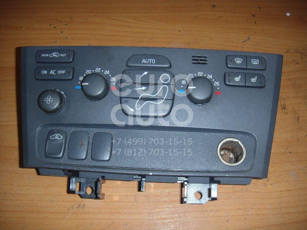 Блок управления климатической установкой для Volvo XC70 Cross Country 2000-2006;V70 2001-2006;S60 2000-2009 - Фото №1
