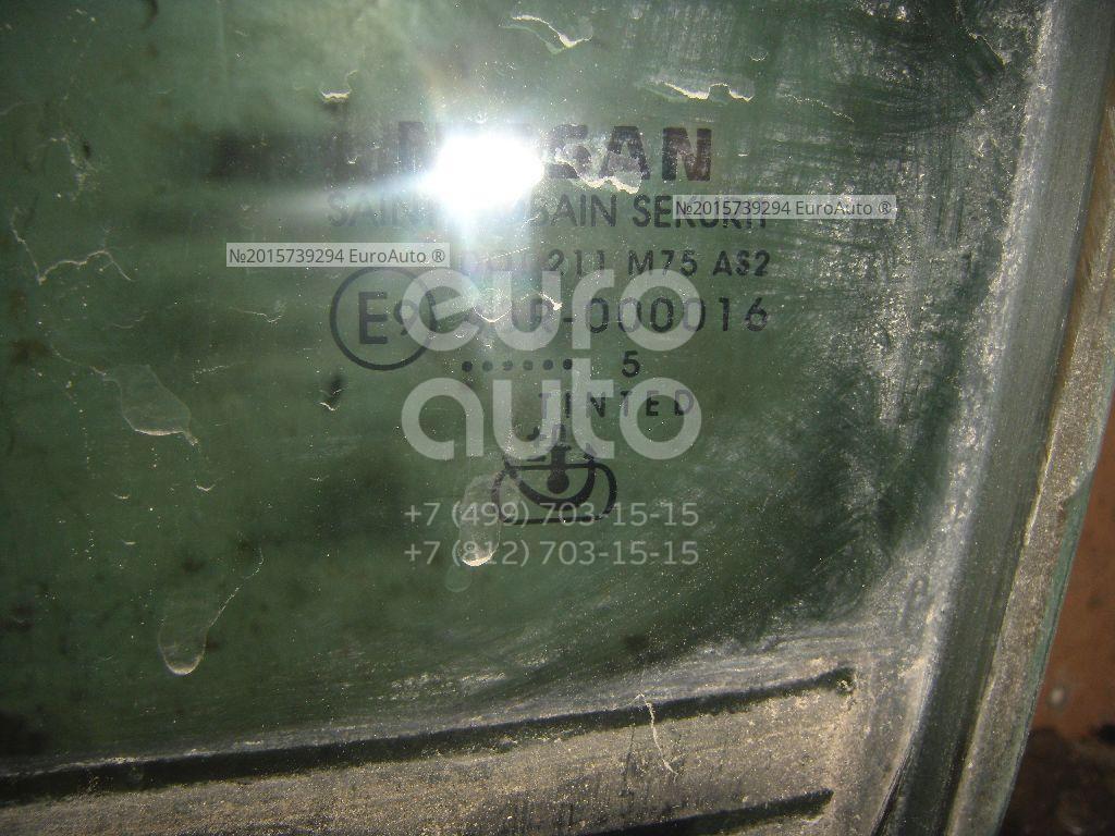 Стекло двери передней левой для Nissan Pathfinder (R51) 2005-2014;Navara (D40) 2005-2015 - Фото №1