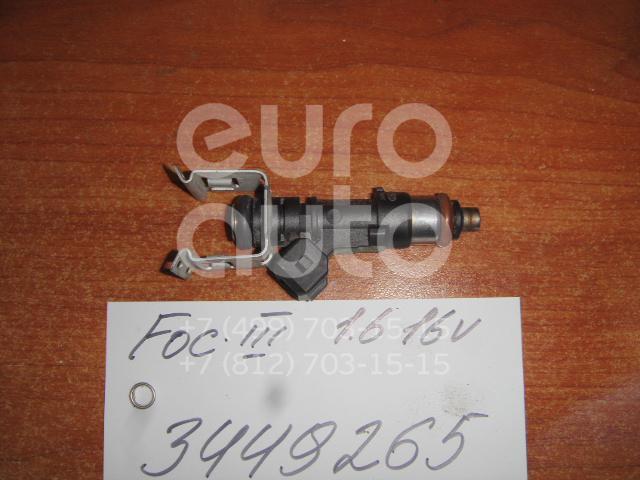 Форсунка инжекторная электрическая для Ford Focus III 2011>;Fiesta 2008>;Mondeo IV 2007-2015;C-MAX 2011> - Фото №1