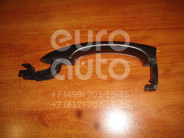 Ручка двери наружная для Audi A1 2010>;A5/S5 Coupe/Sportback 2008-2016;Q5 2008>;A4 [B8] 2007-2015;A4 [B8] Allroad 2010-2015;A5/S5 Cabrio 2010>;Q3 2012> - Фото №1