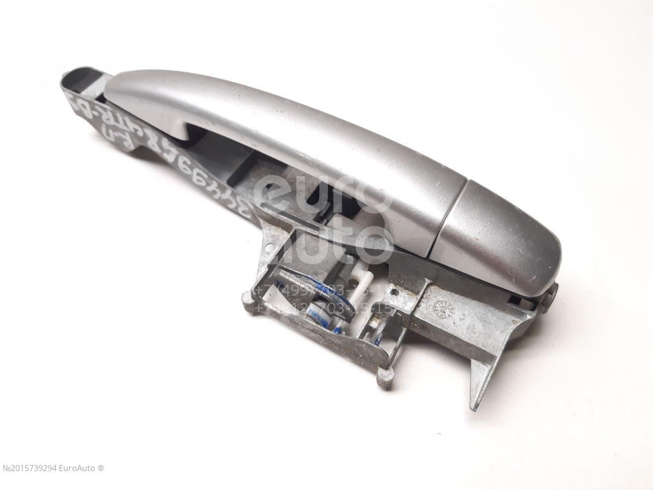 Ручка двери передней наружная правая для Citroen,Peugeot Berlingo (NEW) (B9) 2008>;Partner Tepee(B9) 2008> - Фото №1