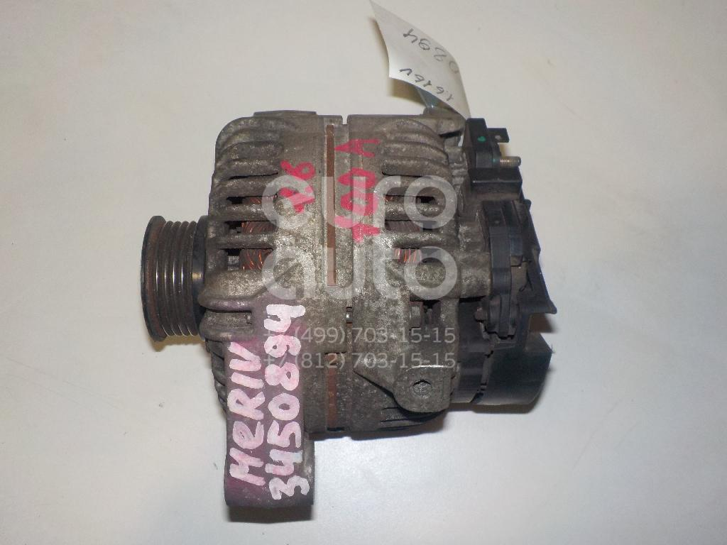 Генератор для Opel,SAAB Meriva 2003-2010;Astra G 1998-2005;Corsa C 2000-2006;Tigra TwinTop 2004-2009;Signum 2003-2008;Zafira (F75) 1999-2005;9-3 2002-2012;Vectra C 2002-2008;Combo 2001-2011 - Фото №1
