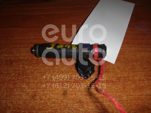 Форсунка инжекторная электрическая для Citroen,Peugeot C5 2005-2008;C4 2005-2011;C8 2002-2014;807 2002-2012;407 2004-2010;307 2001-2007;308 I 2007-2015;C5 2008> - Фото №1