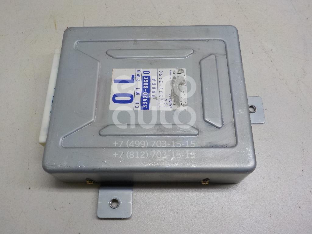 Блок управления двигателем Suzuki Ignis (HT) 2000-2005; (3392080GE0)