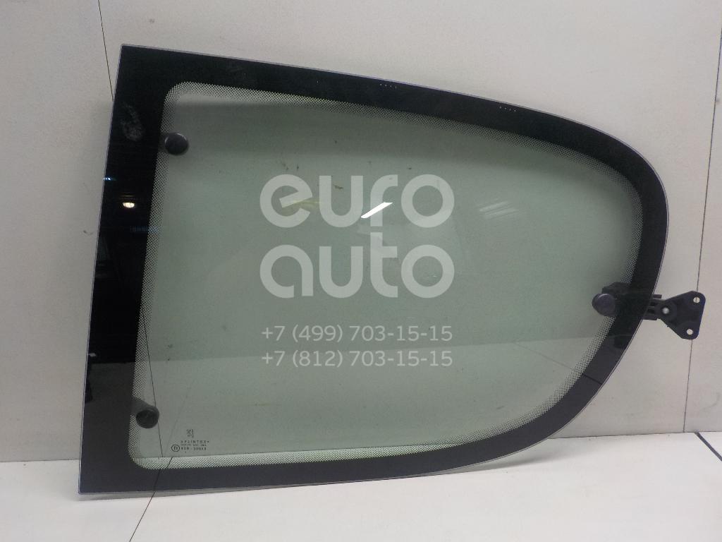 Стекло кузовное открывающееся (форточка) левое Peugeot 206 1998-2012; (8569W8)