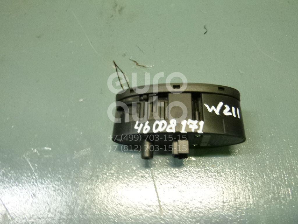 Купить Кнопка стеклоподъемника Mercedes Benz W211 E-Klasse 2002-2009; (2118219658)